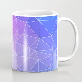 Abstract Colorful Flashy Geometric Triangulate Design Coffee Mug