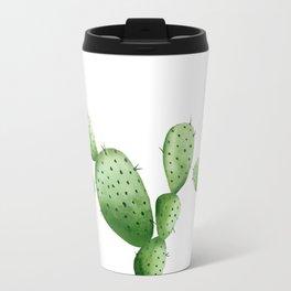 Cactus. Watercolor plant. Travel Mug