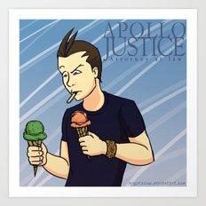 Apollo Justice: Attorney at Law Art Print