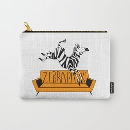 Zebrapark Carry-All Pouch