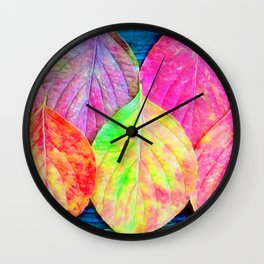 The Color Of Life Wall Clock