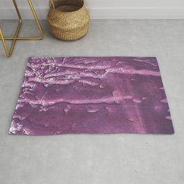 Dark purple painting Rug
