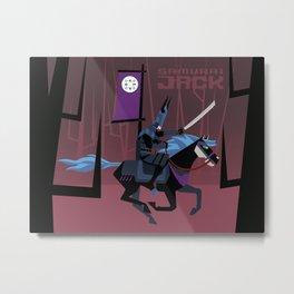 Last Ride of Samurai Jack Metal Print