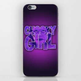 Chooky Girl iPhone Skin