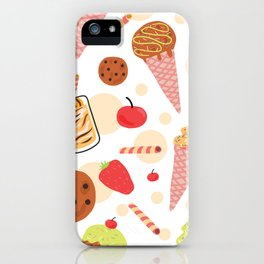 Sweet Tooth Pattern iPhone Case