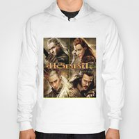 hobbit Hoodies featuring Hobbit by custompro