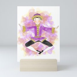 Chinese dancer Mini Art Print