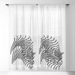 Zebra Sonnet Sheer Curtain