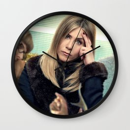 Movie Office Christmas Party Jennifer Aniston Wall Clock