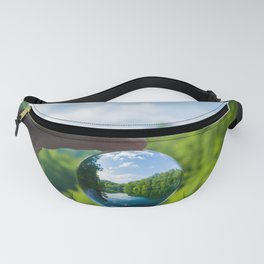 Lensball Landscape, Dale Hollow Fanny Pack