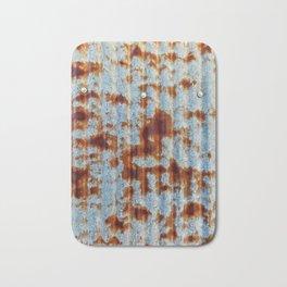 Rusty Metal Bath Mat