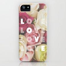 love love love Slim Case iPhone (5, 5s)
