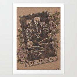 The Lovers Kunstdrucke