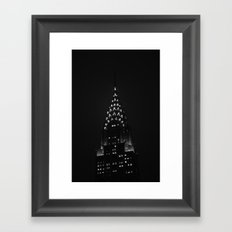 The Chrysler Building  Framed Art Print