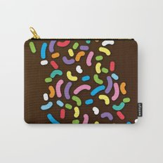 Chocolate Donut Sprinkles Carry-All Pouch