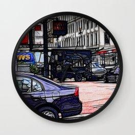 World War Z Street Scene Wall Clock