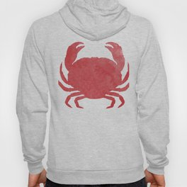 Watercolor Crab Hoody