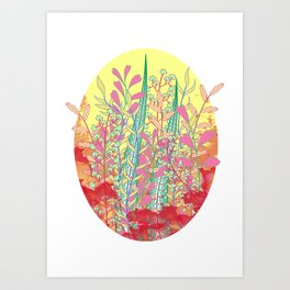 Leafless Art Print