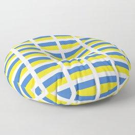 Flag of Ukraine -Ukrainian,Україна, Ucrania,kiev,sevastopol Floor Pillow