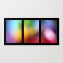 tryptic Canvas Print