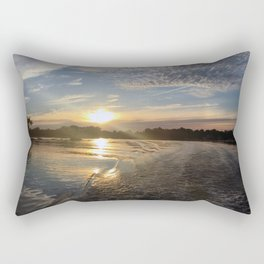 Melancholy Sunset Rectangular Pillow