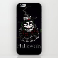 oz iPhone & iPod Skins featuring Oz - Green by artlandofme