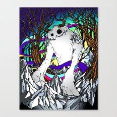 ELEMENTAL YETI Canvas Print