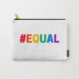 RAINBOW HASHTAG EQUAL Carry-All Pouch