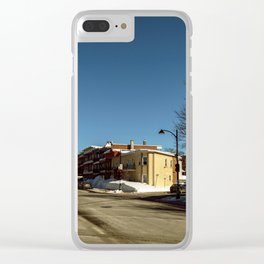 winter ending #2 Clear iPhone Case