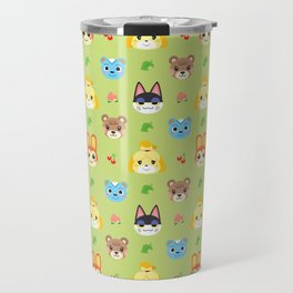 Animal Crossing - Green Travel Mug