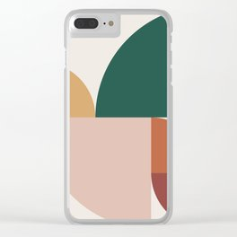 Abstract Geometric 11 Clear iPhone Case