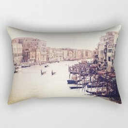 Venice revisited Rectangular Pillow