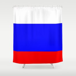 Flag of russia 3 -rus,ussr,Russian,Росси́я,Moscow,Saint Petersburg,Dostoyevsky,chess Shower Curtain