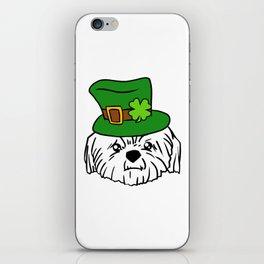 Leprechaun Shih Tzu - St. Patricks Day iPhone Skin