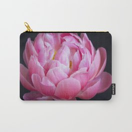 Romantic Pink Peony Carry-All Pouch