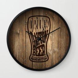 Drink Dayton Beer Wall Clock