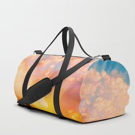 Sunset feather Duffle Bag