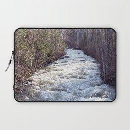 Swollen Creek Runs Wild Laptop Sleeve