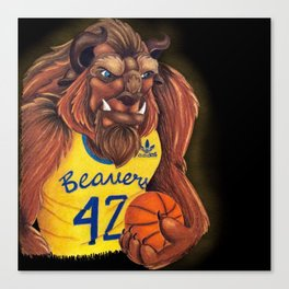 Teen Beast Canvas Print