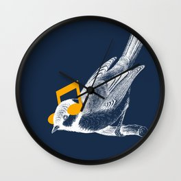 Listening to your heart Wall Clock