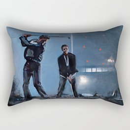 Tyler Durden and the Narrator - Golfing Buddies - Fight Rectangular Pillow