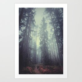 The magic trails Art Print