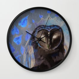 Crown of Wisdom Wall Clock