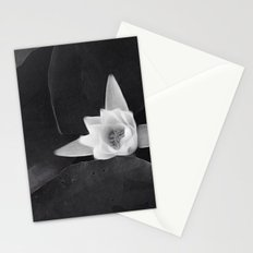 lilly black and white Stationery Cards
