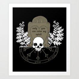 You Raise My Spirit Art Print
