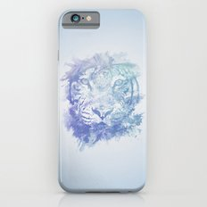 Abstract Watercolor Tiger Portrait / Face Slim Case iPhone 6