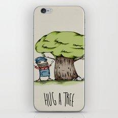 Hug a tree iPhone & iPod Skin