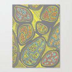 Lemon Peel Canvas Print