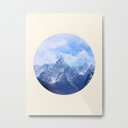 Himalayan Mountains Metal Print