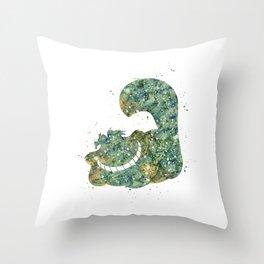 Cheshire Cat Disneys Throw Pillow